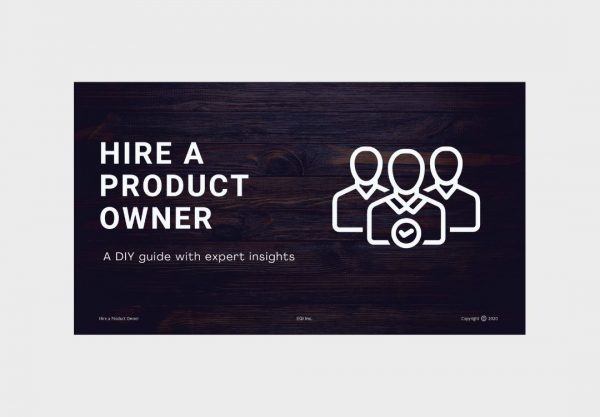 Hiring a Product Owner
